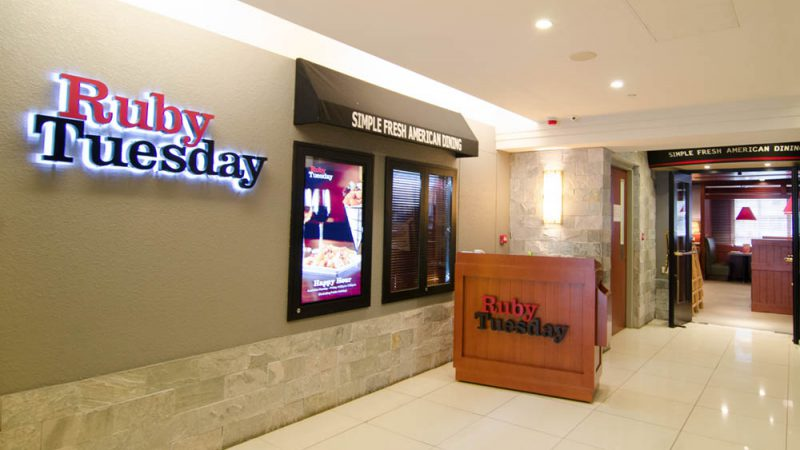 Ruby Tuesday 銅鑼灣