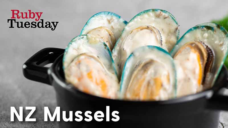 July Special Add On NZ Mussels