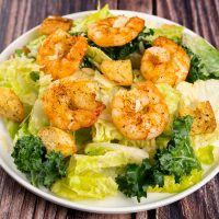 Ruby's Caesar Salad - Garlic Shrimp<br>香蒜蝦