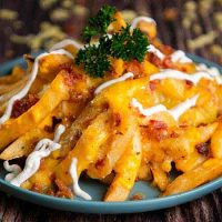 Bacon Cheese Fries<br>煙肉芝士薯條