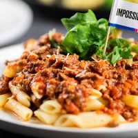 Impossible™ Bolognese with Penne Pasta<br>Impossible™香濃肉醬長通粉