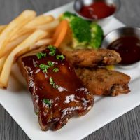 Kids Ribs & Wings Sampler