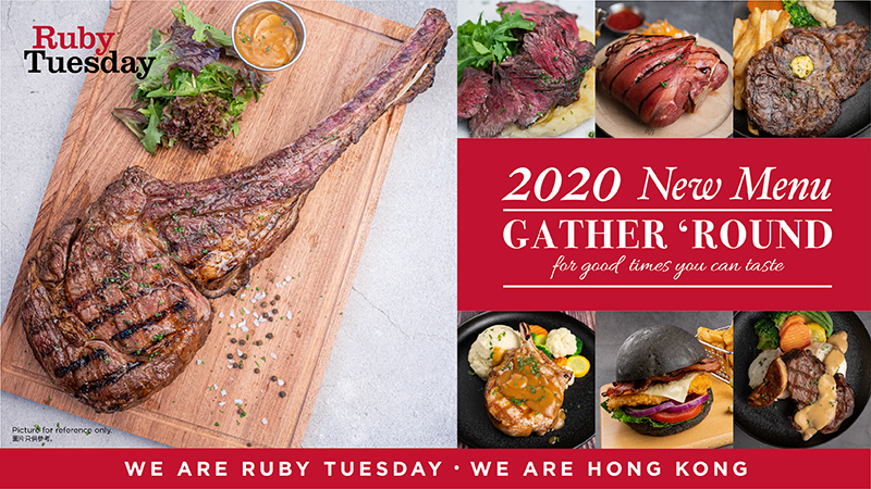 Ruby Tuesday half price discount for 30 days